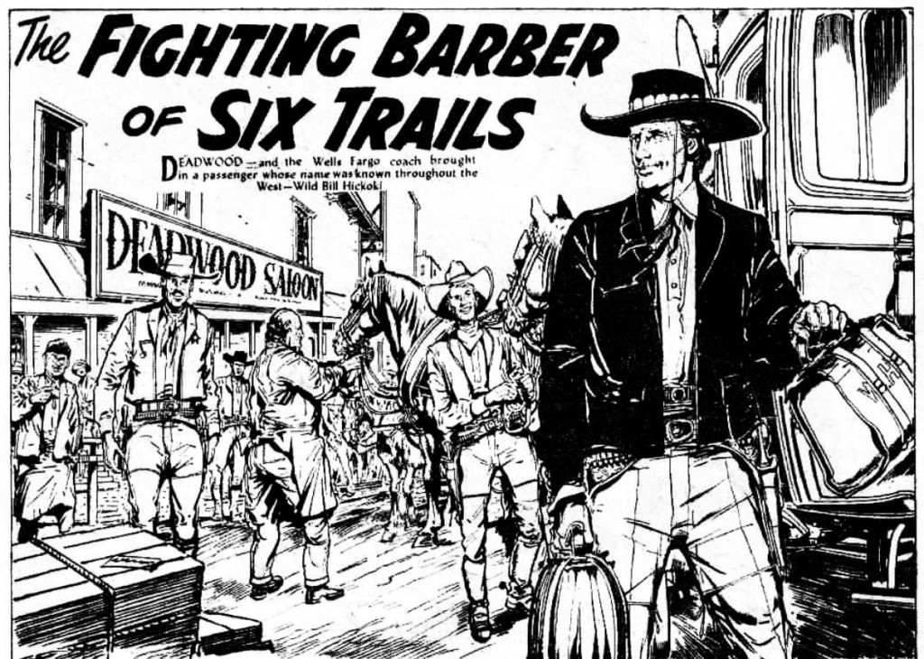 """The Hotspur: """"Fighting Barber of Six Trails"""""""