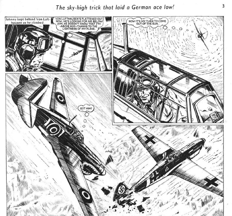 """The Hotspur Issue 120: """"The Air Fights of Flyer Hart"""""""