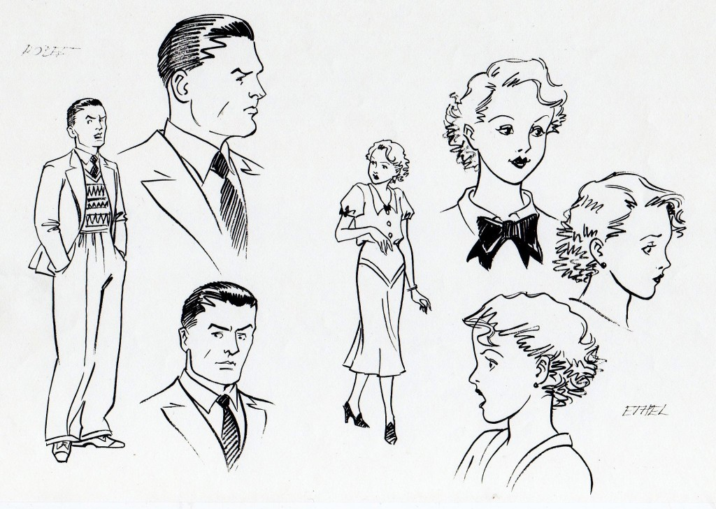 William's brother Robert and sister Ethel. Art: Maureen and Gordon Gray
