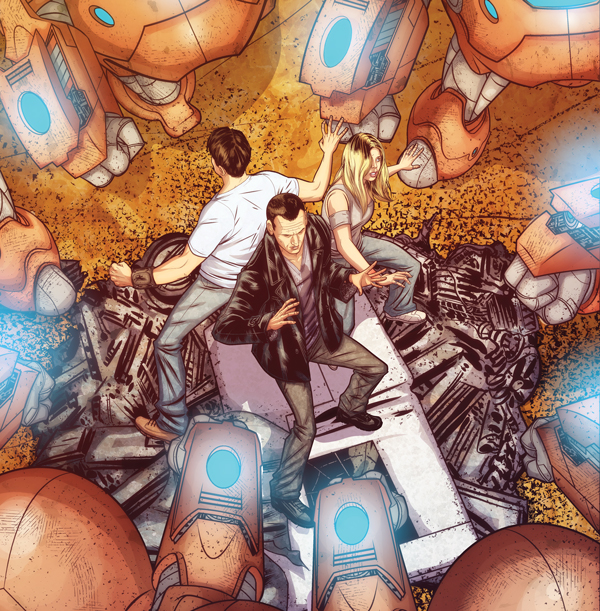 Doctor Who: Tales from the TARDIS #1 - Ninth Doctor Mini Series