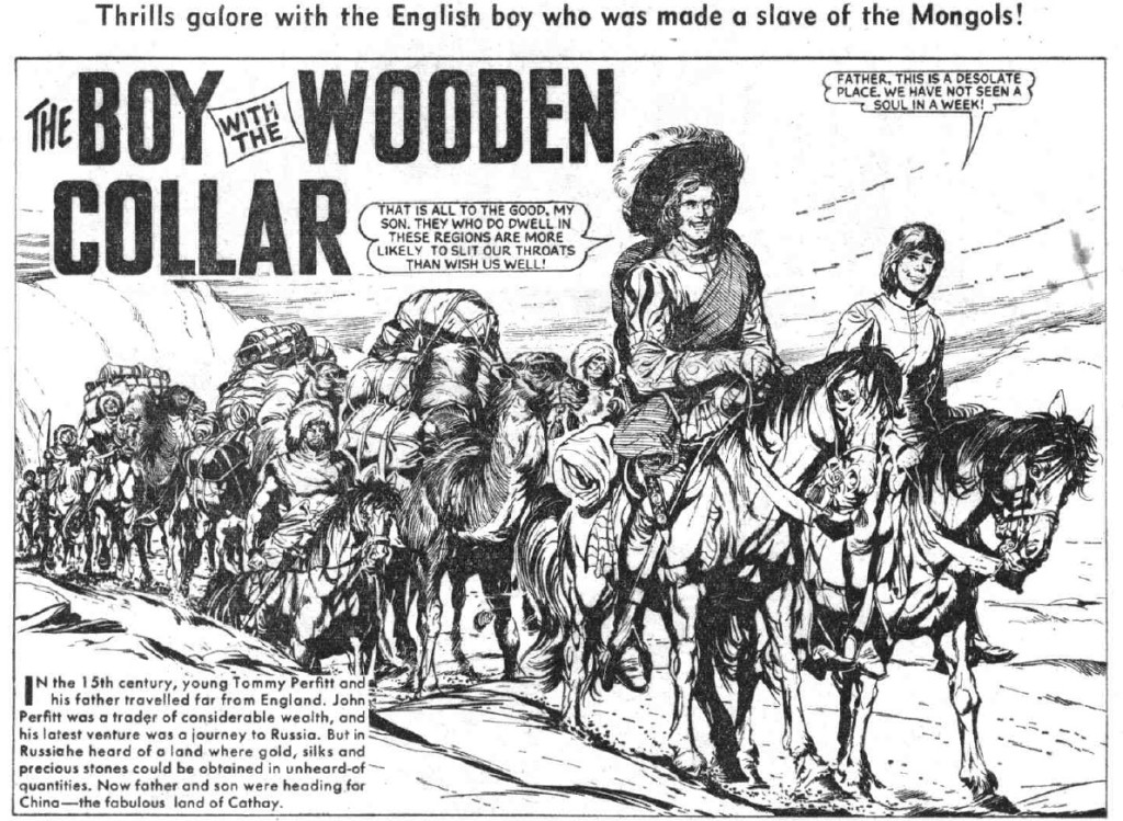 """The Hotspur 431: """"The Boy With The Wooden Collar"""""""