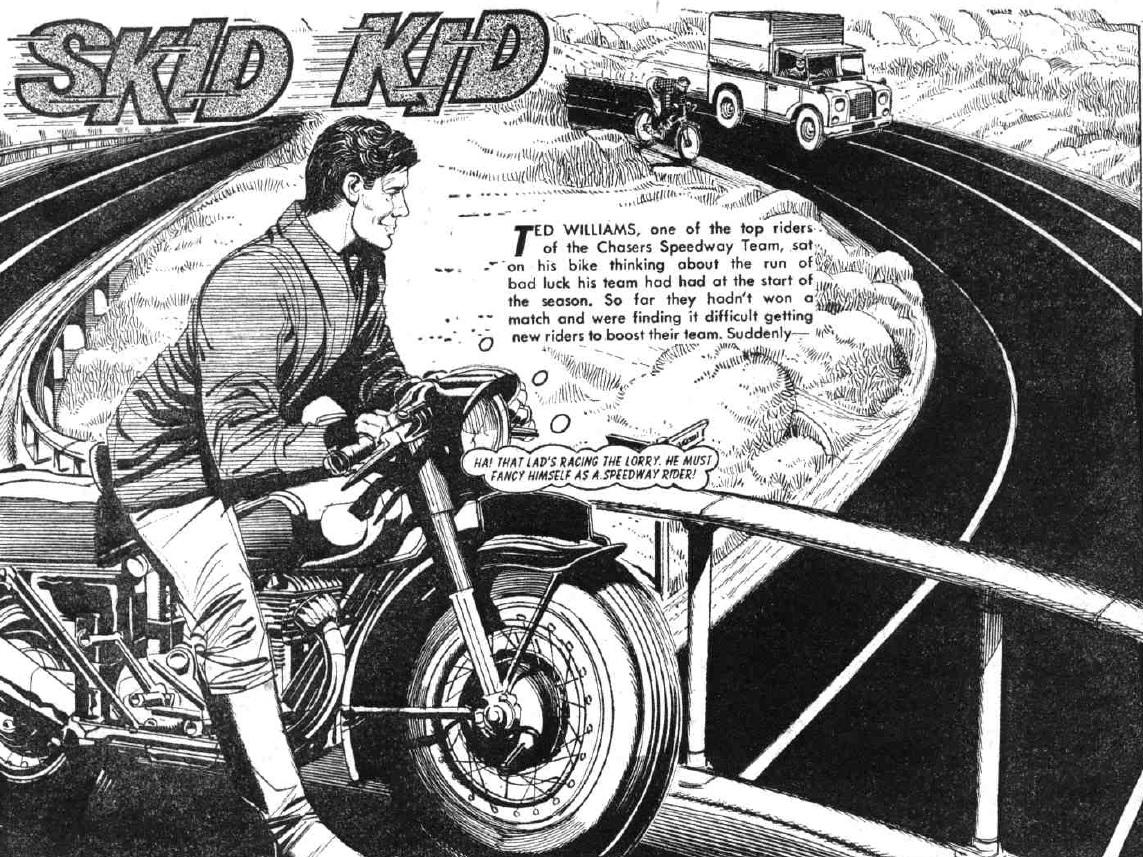 "The Hotspur Issue 627 ""Skid Kid"""
