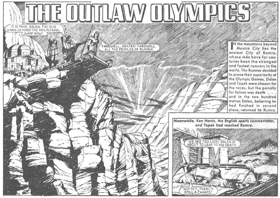 The Hotspur 472: The Outlaw Olympics