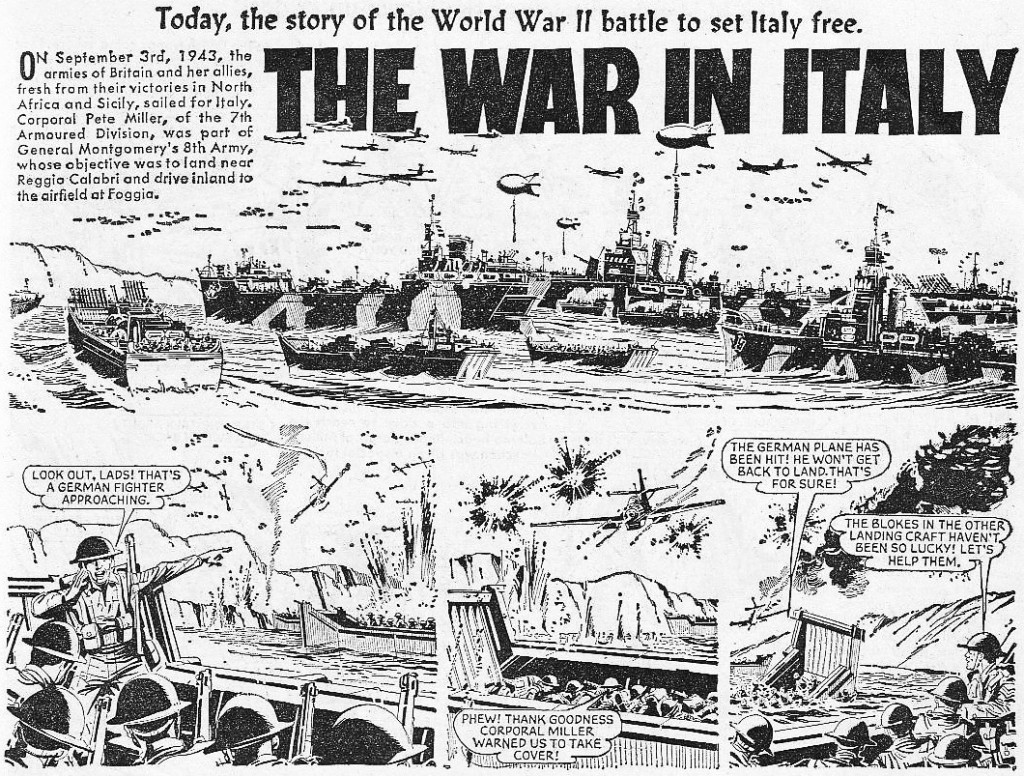 """The Hotspur 351: """"The War In Italy"""""""