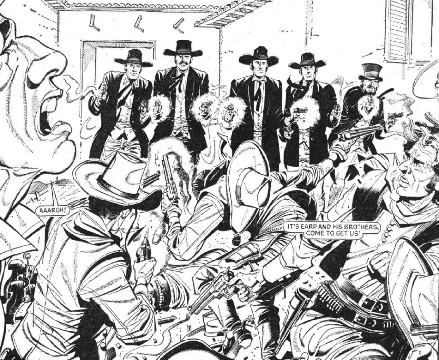 """The Hotspur Issue 751 """"Wyatt Earp - The Man Who Tamed The Wild West"""""""