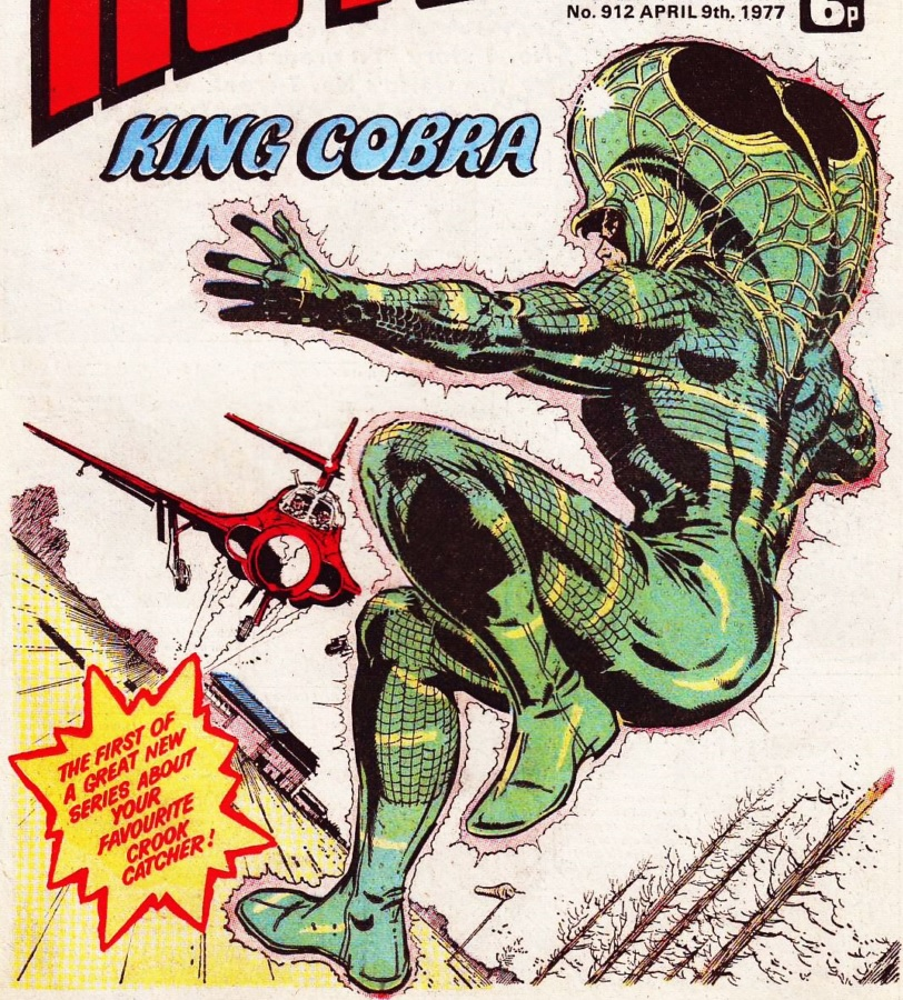 """The Hotspur Issue 912 """"King Cobra"""""""