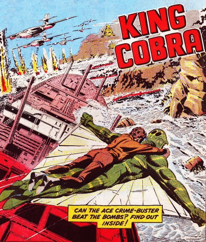 "The Hotspur Issue 960 ""King Cobra"""