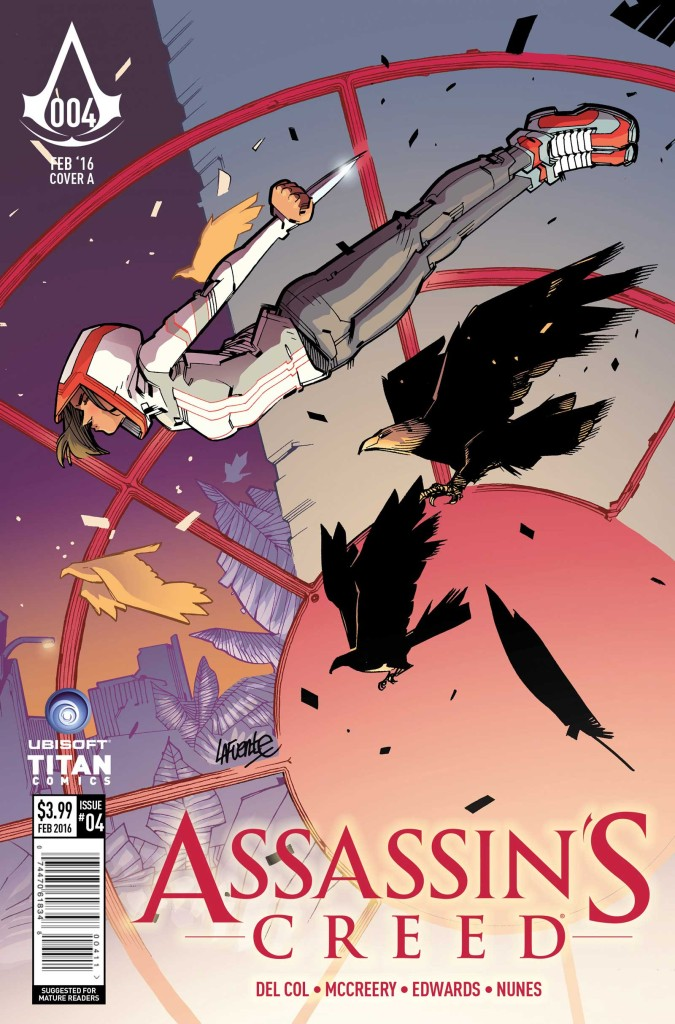 Assassin's Creed #4 Cover A by David Lafuente