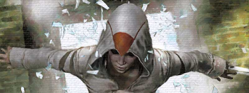 Assassin's Creed #4 Cover B by Marco Turini SNIP