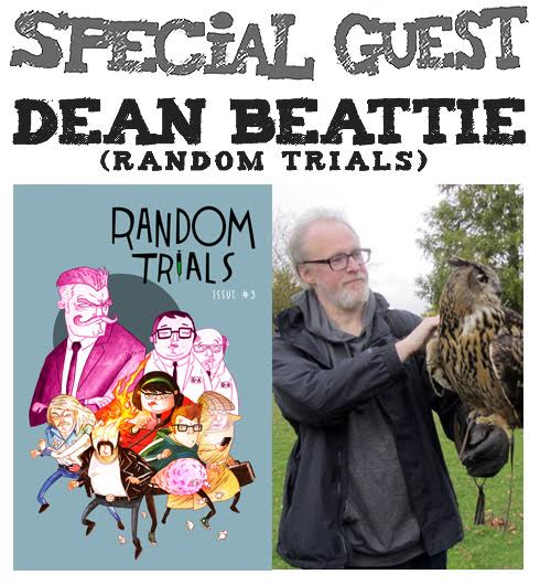 Awesome Comics Podcast Episode 27 - Dean Beattie and Random Trials