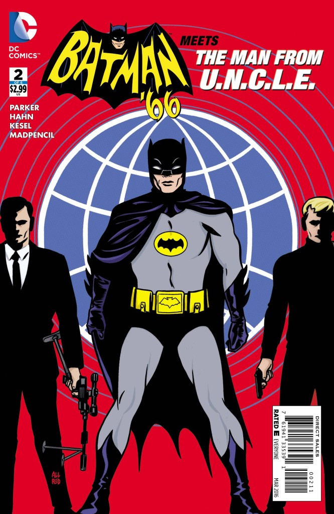 Batman 66 Meest the Man from U.N.C.L.E. #2