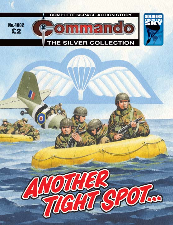 Commando No 4882 – Another Tight Spot…