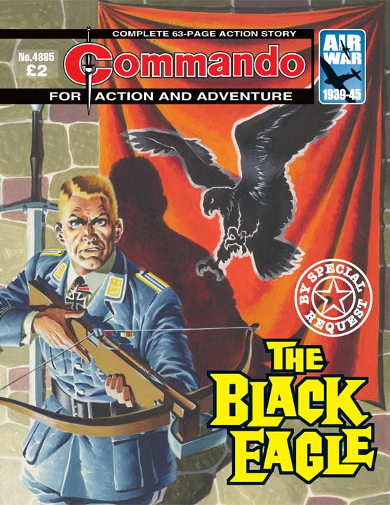 Commando No 4885 – The Black Eagle