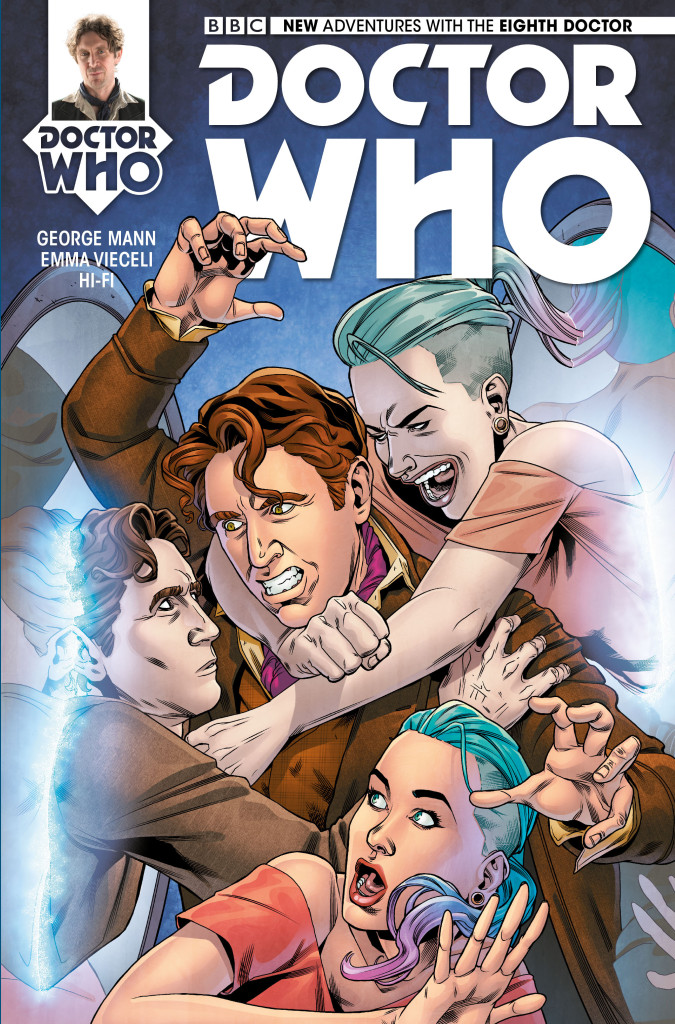 Doctor Who: The Eighth Doctor #3 - Cover A