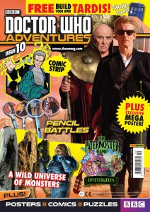 Doctor Who Adventures Issue 10 - Cover