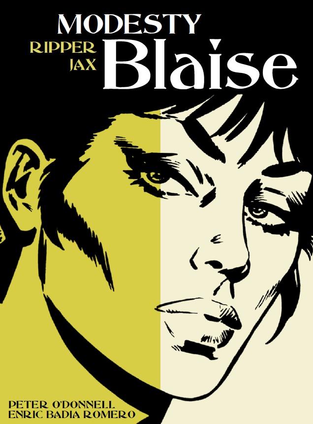 Modesty Blaise: Ripper Jax Cover