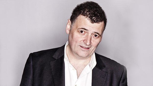 Steve Moffat, Image: BBC