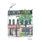 Dan Berry - Toronto Watercolour