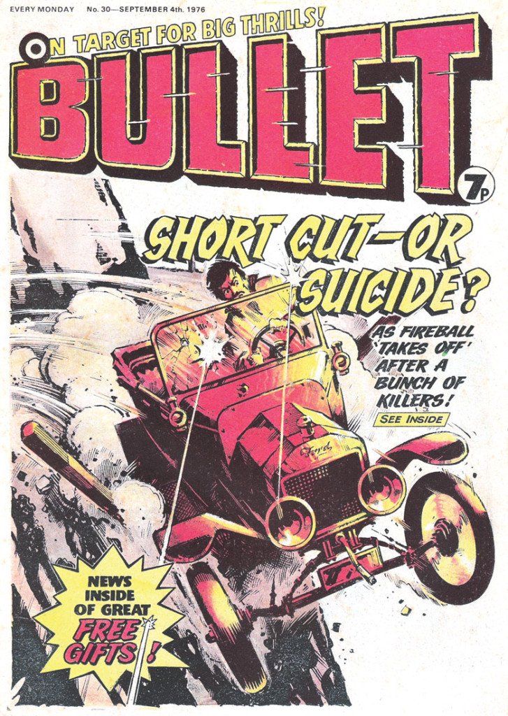 Bullet Issue 30. Cover by Jeff Bevan