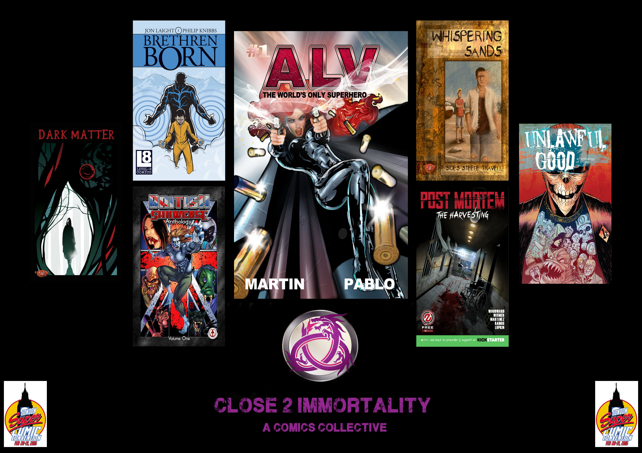 Close 2 Immortality Books Launch
