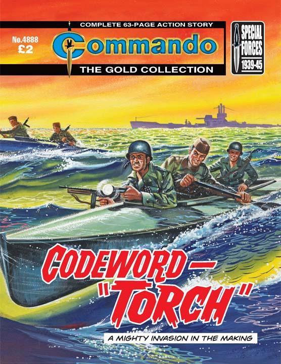 """Commando No 4888 – Codeword – """"Torch"""""""