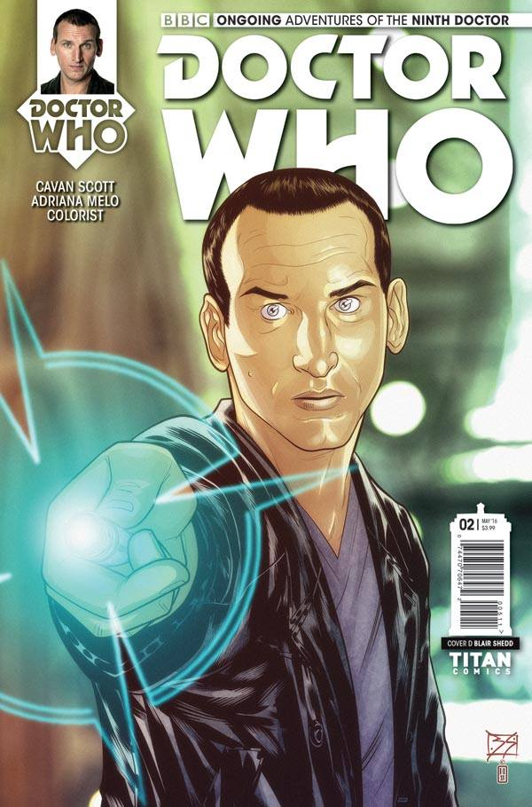 Doctor Who: The Ninth Doctor #2 - Cover D - Blair Shedd