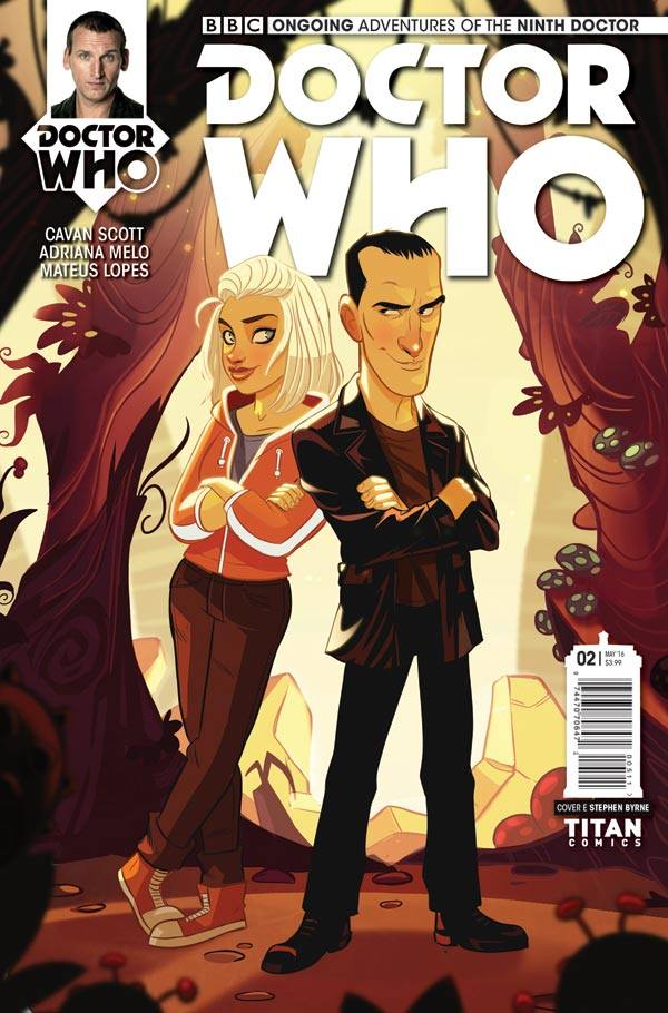 Doctor Who: The Ninth Doctor #2 - Cover E - Stephen Byrne