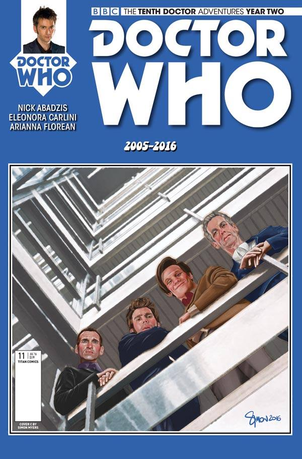 Doctor Who: The Tenth Doctor Year Two #11 - Cover C
