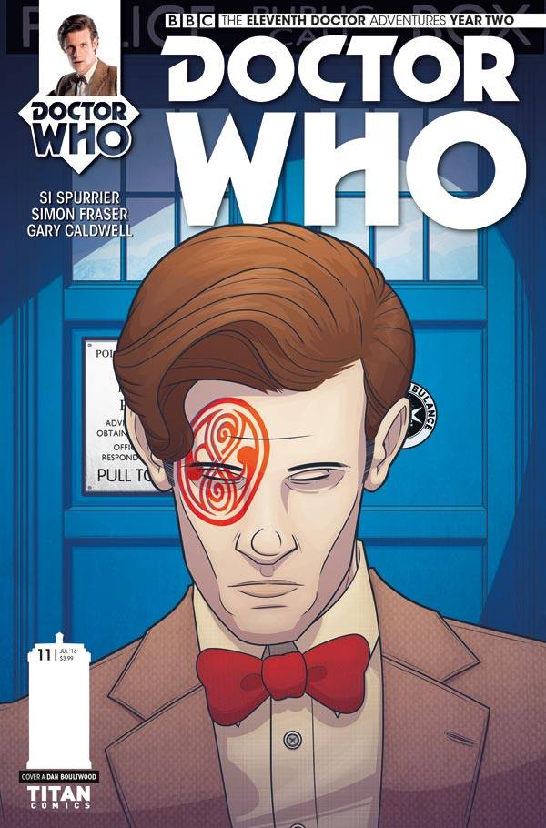 Doctor Who: The Eleventh Doctor: Year Two #11 Cover A - Dan Boultwood