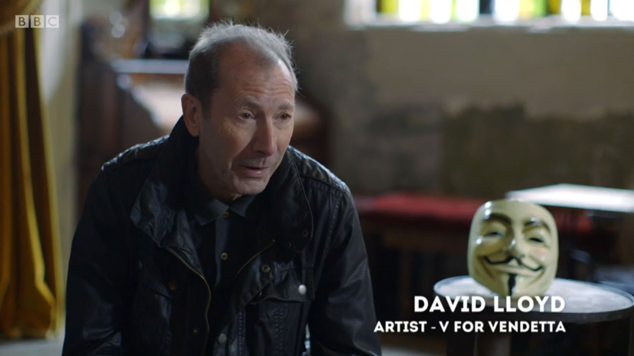 David Lloyd interviewed by Nina Conti on BBC2's Artsnight: Behind the Mask