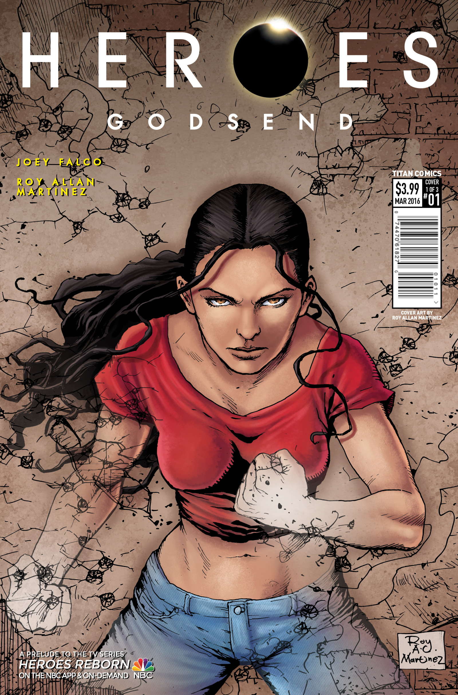 Heroes Godsend #1 Cover A