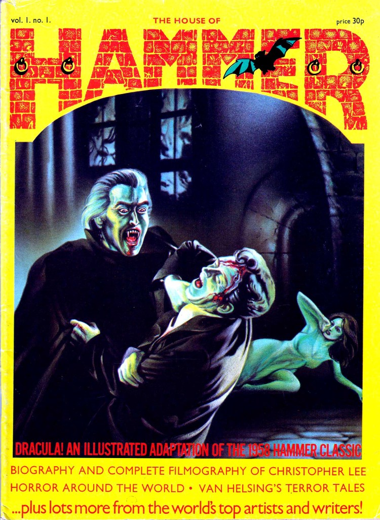 The House of Hammer Issue One, published in 1976. Cover by Joe Petagno