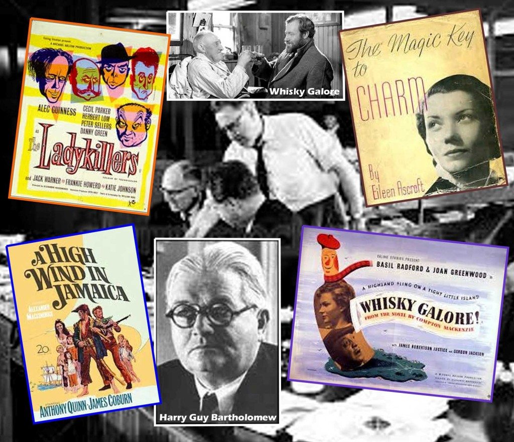 Whisky Galore, Hugh Cudlipp and Eileen Ascroft: Montage by Roger Perry