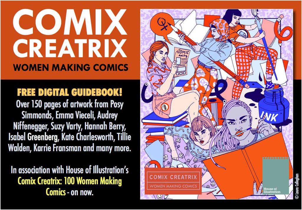 Comics Creatrix: 100 Women Making Comics SEQUENTIAL Guide