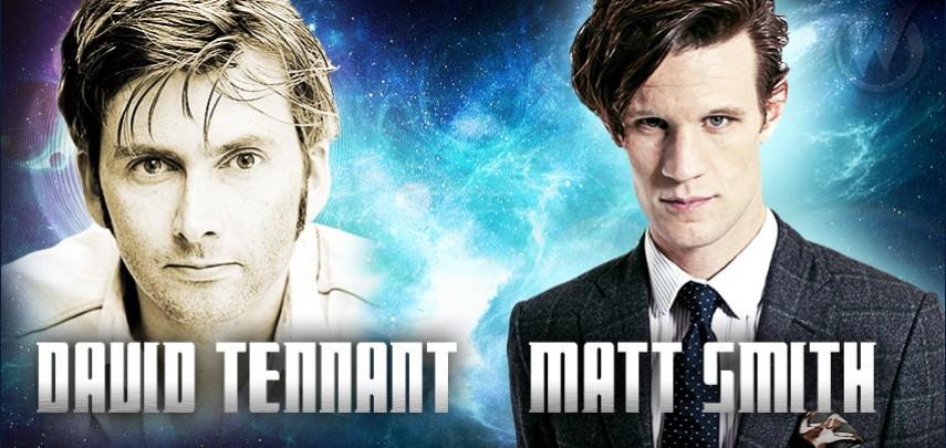 Wizard World : David Tennant and Matt Smith