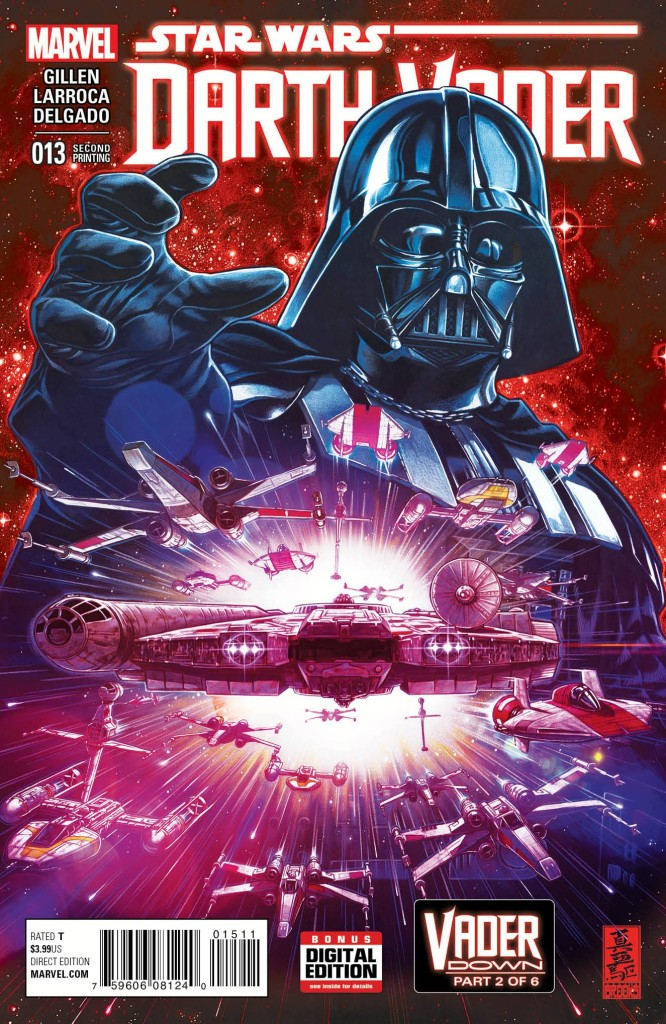Darth Vader #13 Brooks 2nd Printing Variant