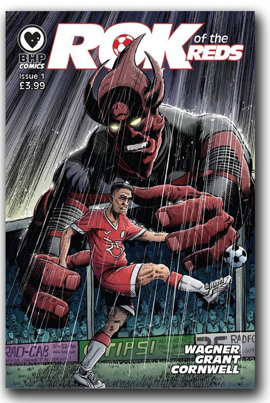 Rok of the Reds #1 - Cover