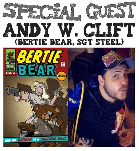 Awesome Comics Podcast Episode: Andy W. Clift