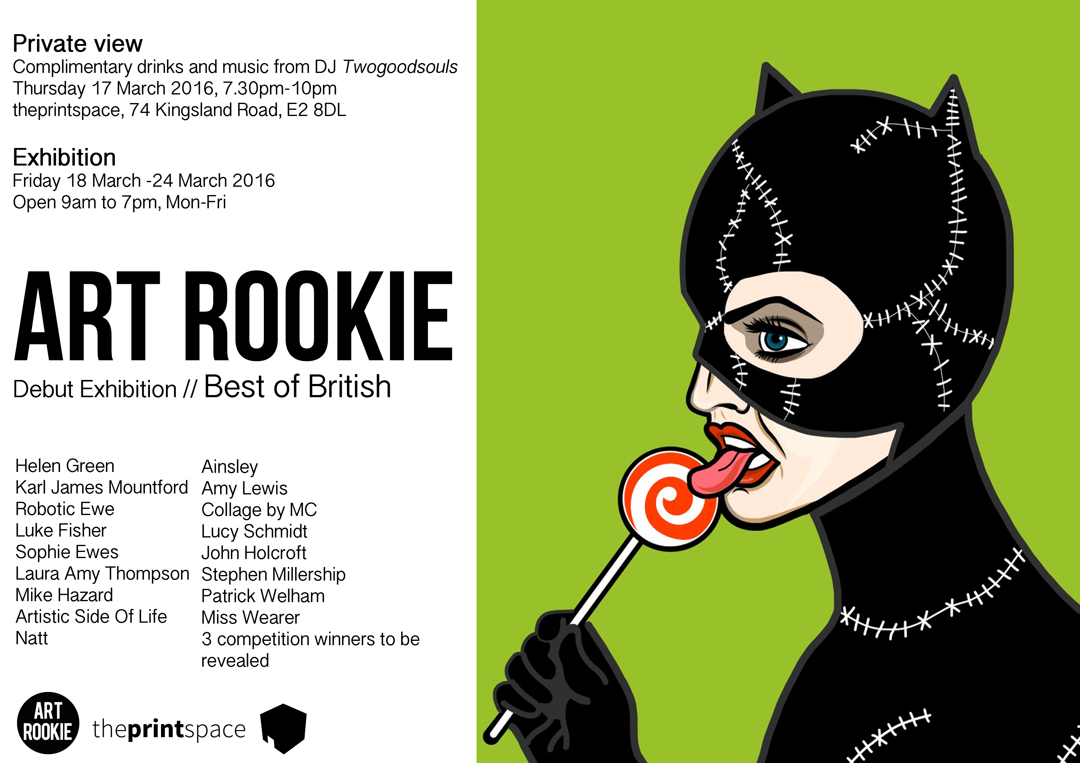 Art Rookie Debut Exhibition March 2016