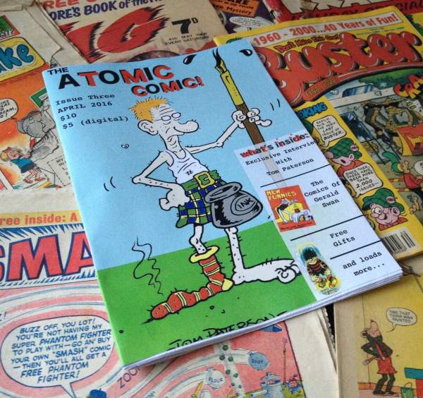 Atomic Comic Issue 3