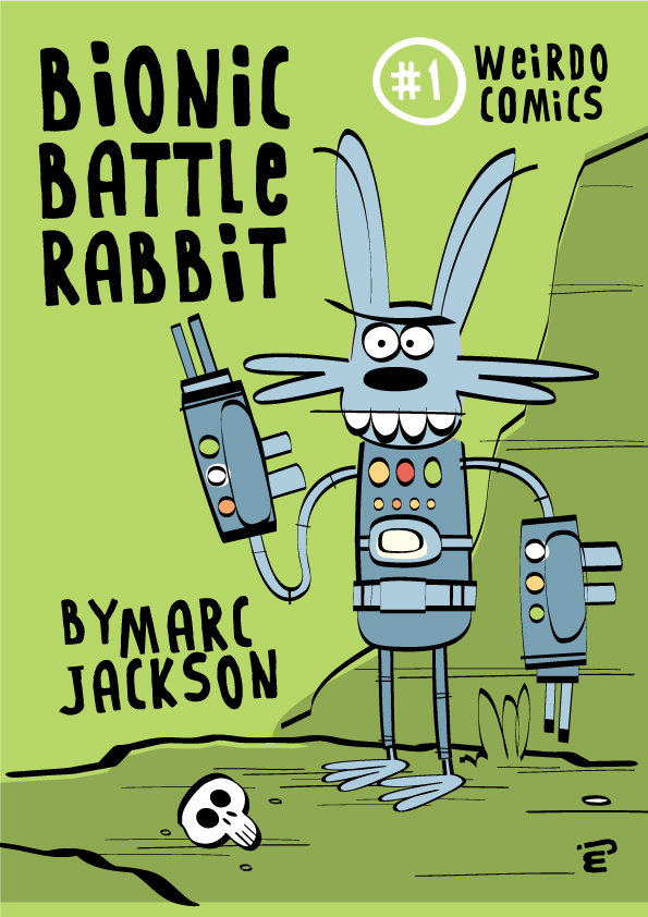 Bionic Battle Rabbit - Cover