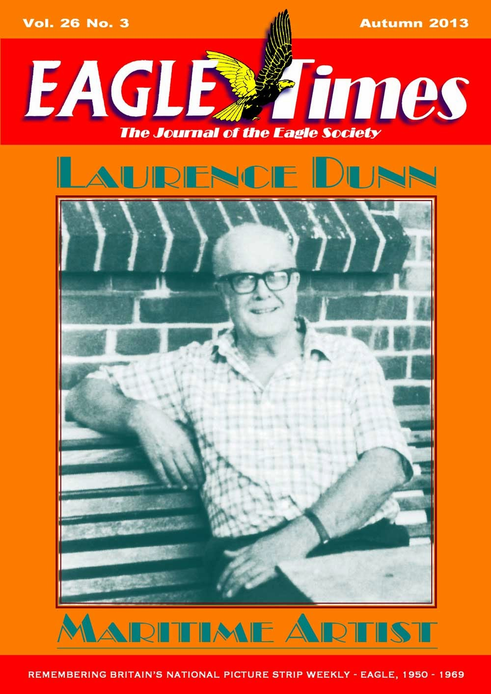 Eagle Times Volume 26, Number Three - Cover