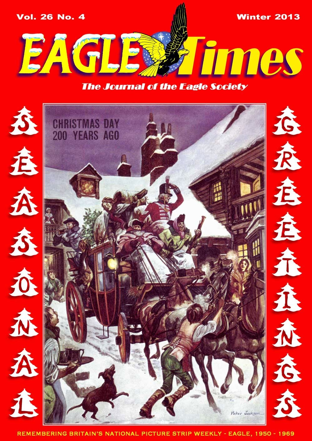 Eagle Times (Volume 26 Number Four - Cover