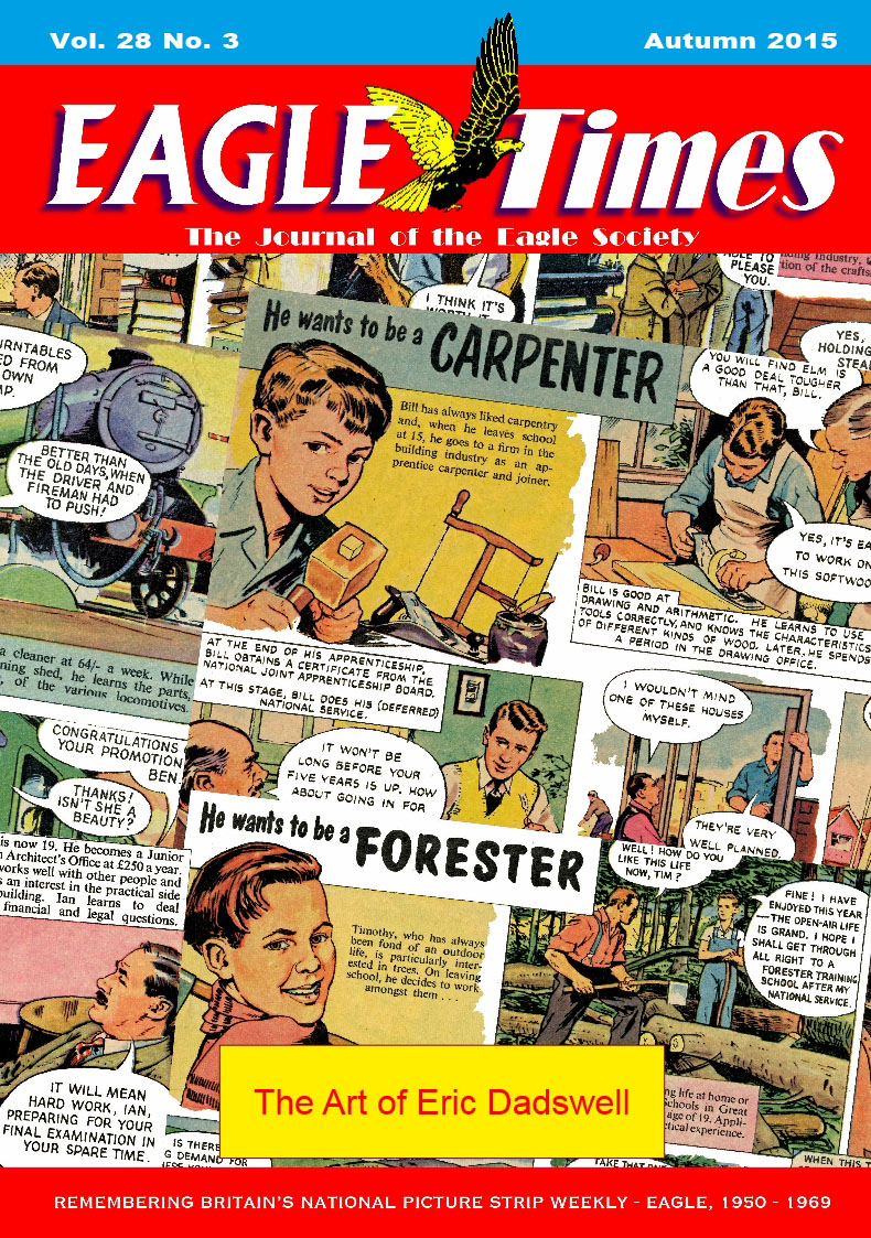 Eagle Times Volume 28 Number Three - Cover
