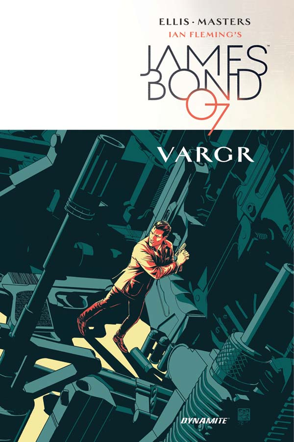 James Bond: Vargr - Cover