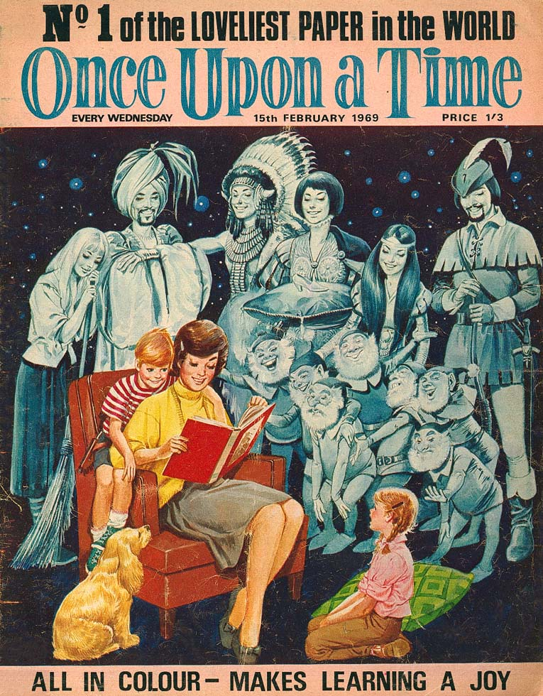 Once Upon A Time Issue 1 - Cover