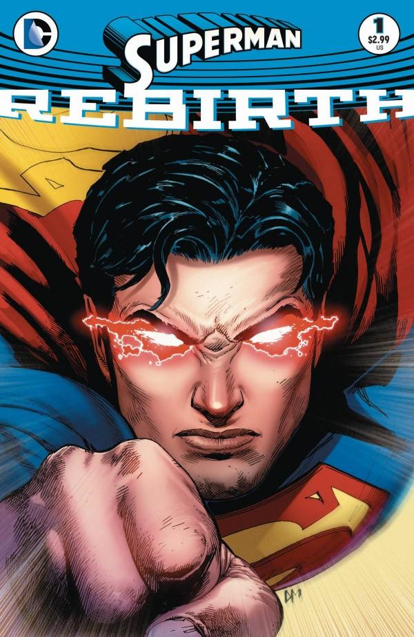 Superman Rebirth #1 - Cover