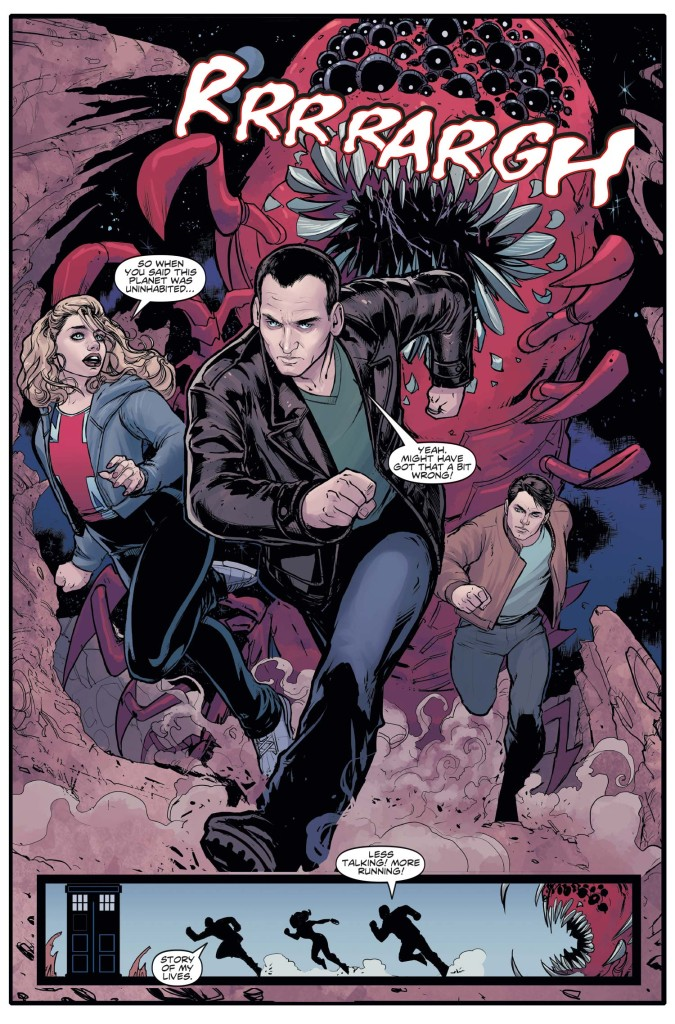 Doctor Who: The Ninth Doctor #1 (Ongoing) - Preview 1