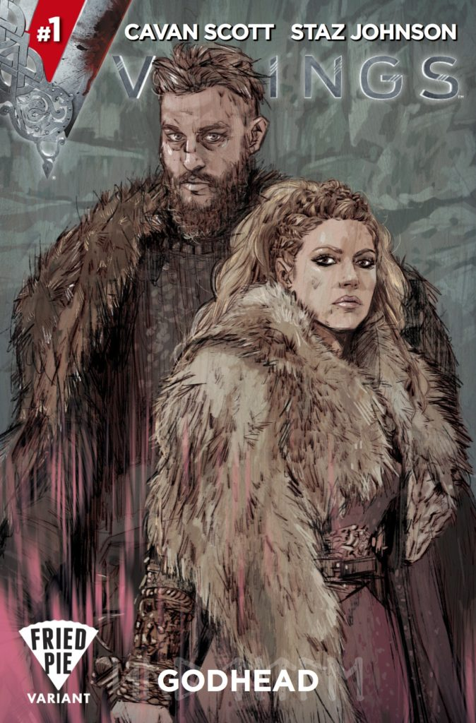 Vikings #1 - Books-a-Million Store Variant by Tula Lotay