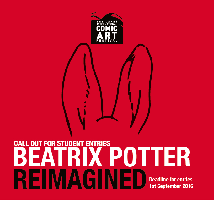 Beatrix Potter Reimagined Competition Logo
